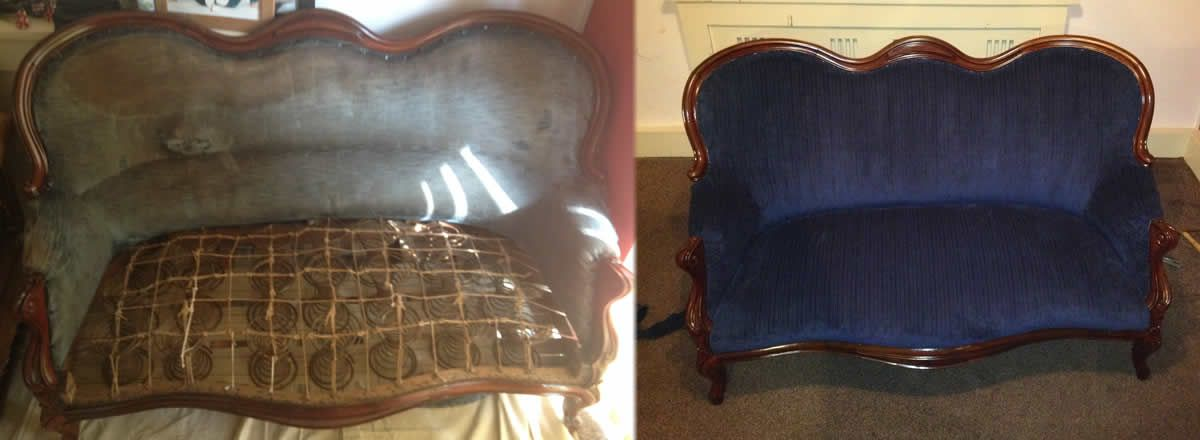 furniture upholstery sofa recovering chair reupholstery